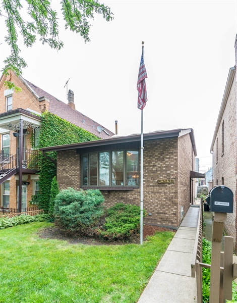 Real Estate Photography - 3841 S. Wood St., Chicago, IL, 60609 - Front View