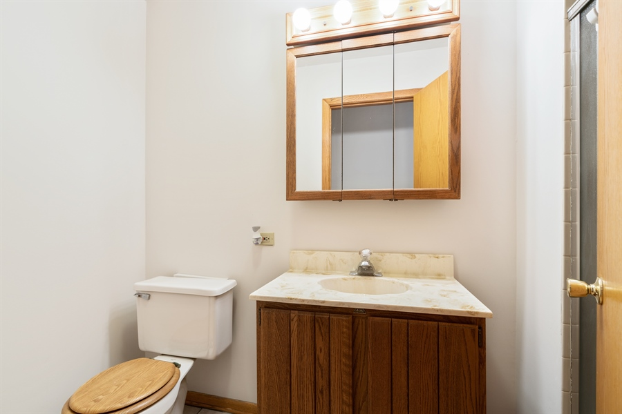 Real Estate Photography - 3841 S. Wood St., Chicago, IL, 60609 - Bathroom