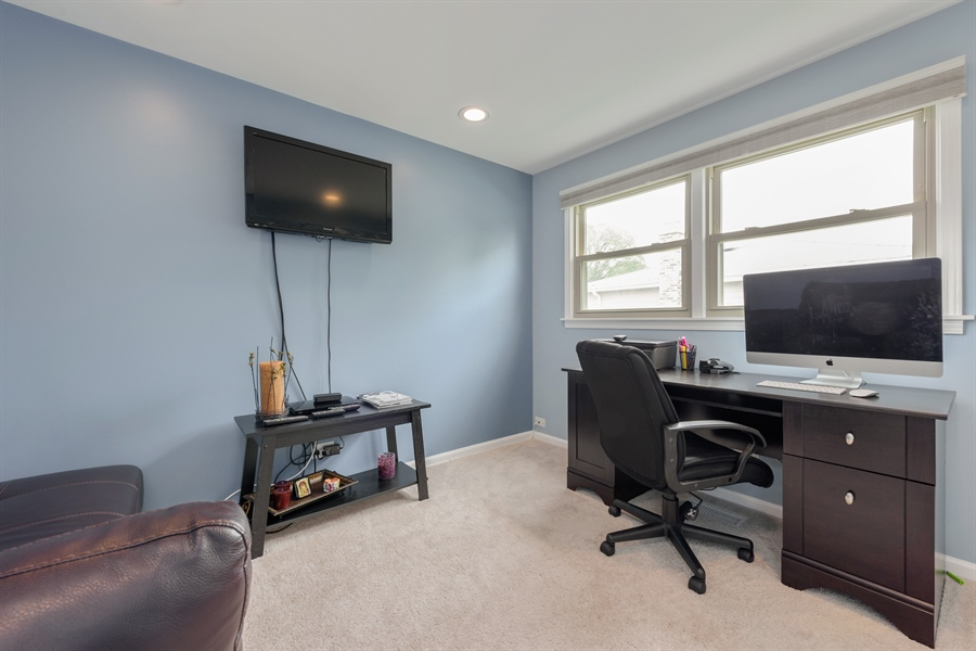 Real Estate Photography - 3219 MARY KAY, GLENVIEW, IL, 60026 - 4th Bedroom