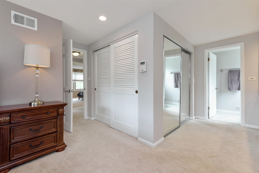 Real Estate Photography - 3219 MARY KAY, GLENVIEW, IL, 60026 - Master Bedroom