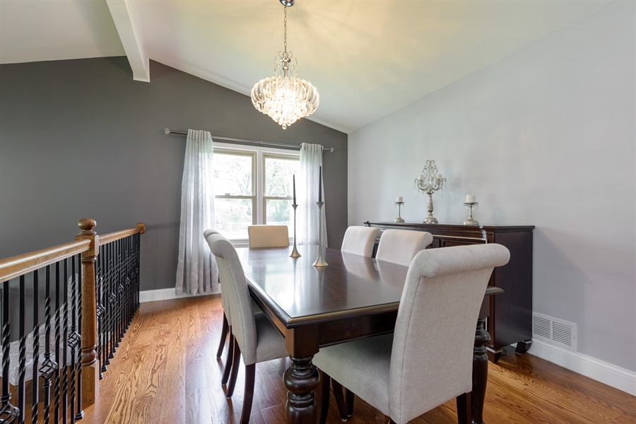 Real Estate Photography - 3219 MARY KAY, GLENVIEW, IL, 60026 - Dining Room