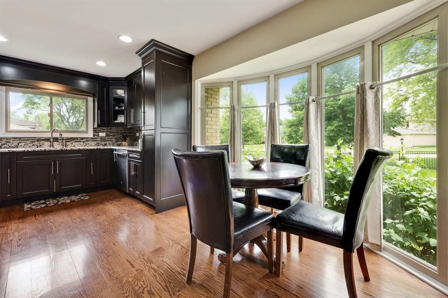 Real Estate Photography - 3219 MARY KAY, GLENVIEW, IL, 60026 - Breakfast Area