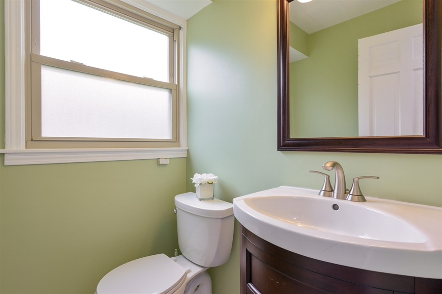 Real Estate Photography - 3219 MARY KAY, GLENVIEW, IL, 60026 - Half Bath