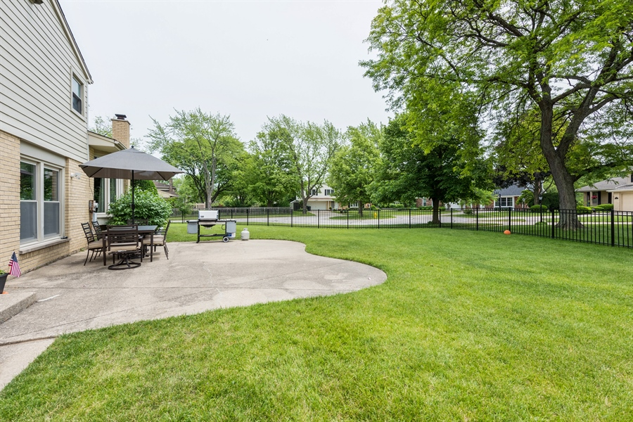 Real Estate Photography - 3219 MARY KAY, GLENVIEW, IL, 60026 - Patio