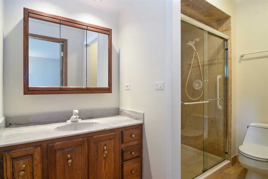 Real Estate Photography - 1060 E.Cooper, Palatine, IL, 60074 - Master Bathroom