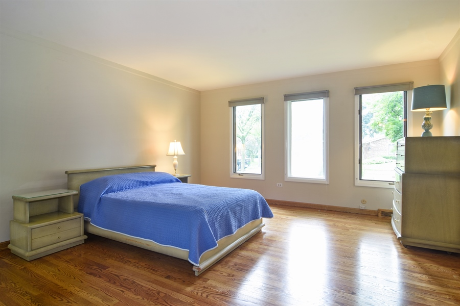 Real Estate Photography - 1060 E.Cooper, Palatine, IL, 60074 - Master Bedroom