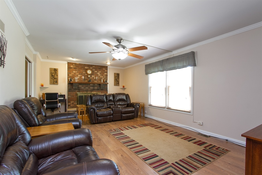 Real Estate Photography - 3530 Edward Dr, n/a, CRETE, IL, 60417 - Living Room
