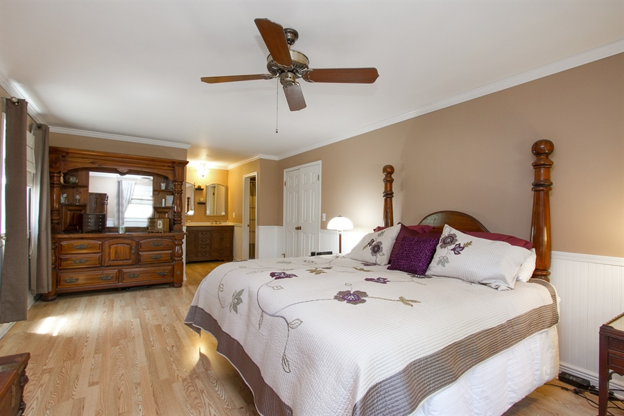 Real Estate Photography - 3530 Edward Dr, n/a, CRETE, IL, 60417 - Master Bedroom