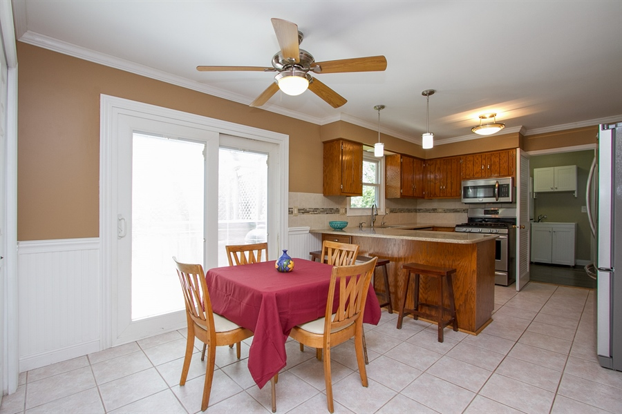 Real Estate Photography - 3530 Edward Dr, n/a, CRETE, IL, 60417 - Kitchen / Breakfast Room