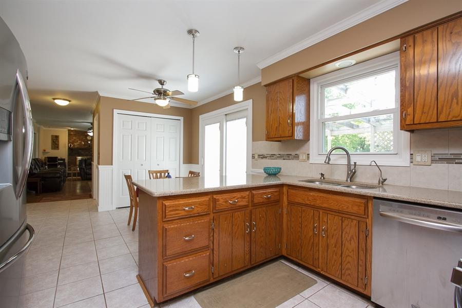 Real Estate Photography - 3530 Edward Dr, n/a, CRETE, IL, 60417 - Kitchen