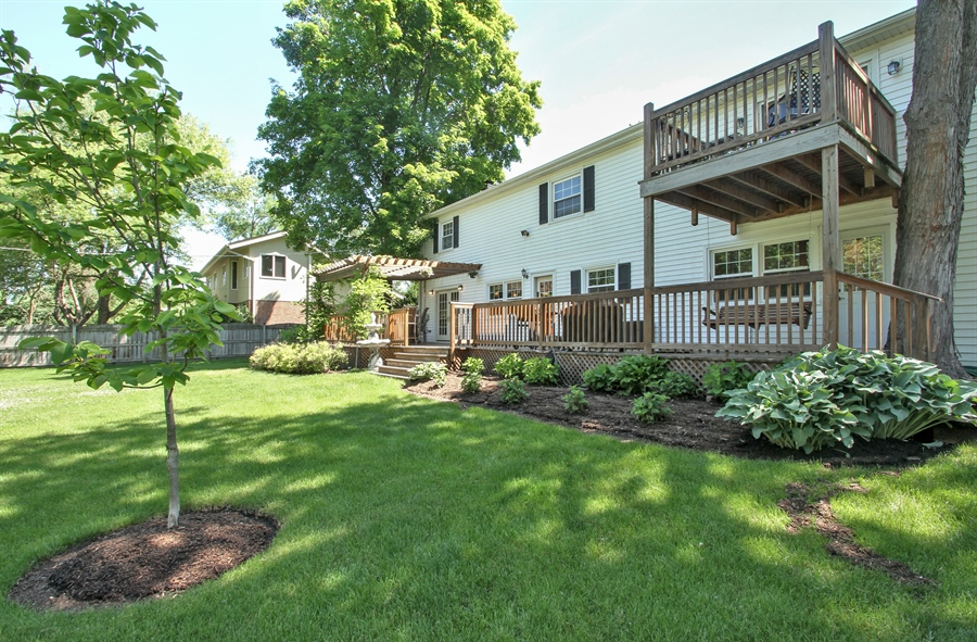 Real Estate Photography - 2750 Landwehr, Northbrook, IL, 60062 - Rear View