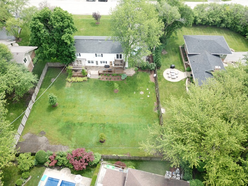 Real Estate Photography - 2750 Landwehr, Northbrook, IL, 60062 - Aerial