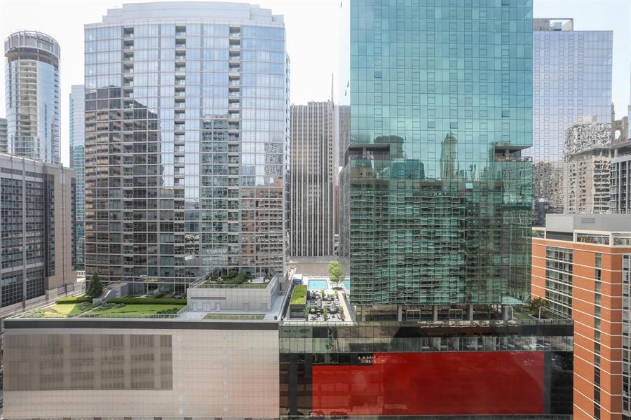 Real Estate Photography - 211 E Ohio, 2418, Chicago, IL, 60611 - City View