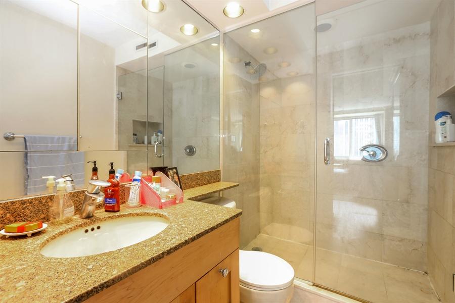 Real Estate Photography - 211 E Ohio, 2418, Chicago, IL, 60611 - Master Bathroom