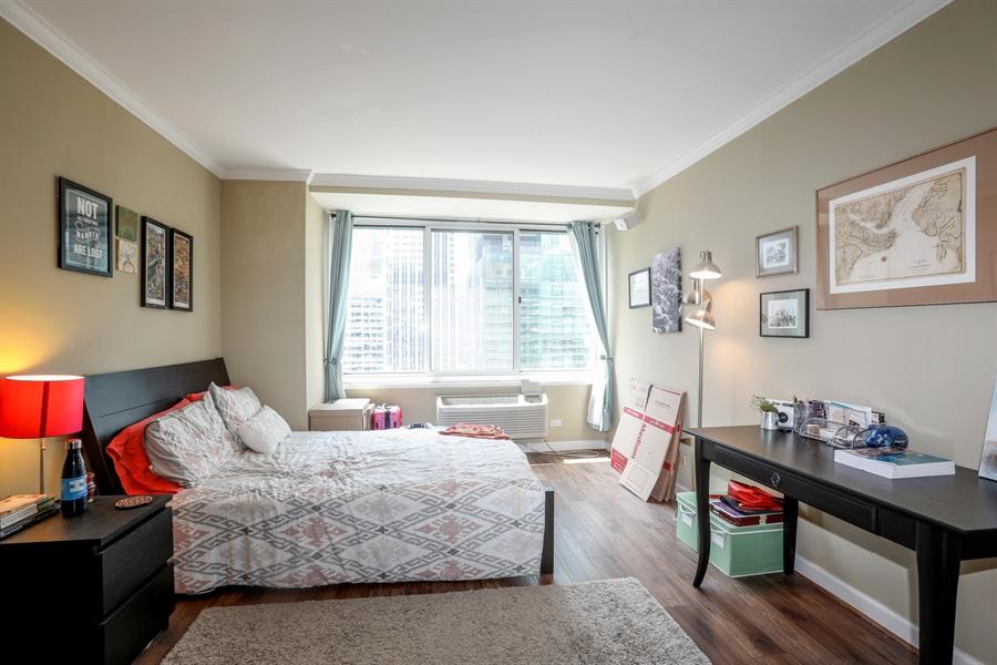Real Estate Photography - 211 E Ohio, 2418, Chicago, IL, 60611 - Master Bedroom