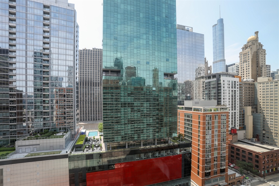 Real Estate Photography - 211 E Ohio, 2418, Chicago, IL, 60611 - View