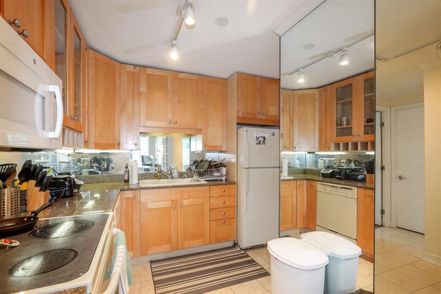 Real Estate Photography - 211 E Ohio, 2418, Chicago, IL, 60611 - Kitchen