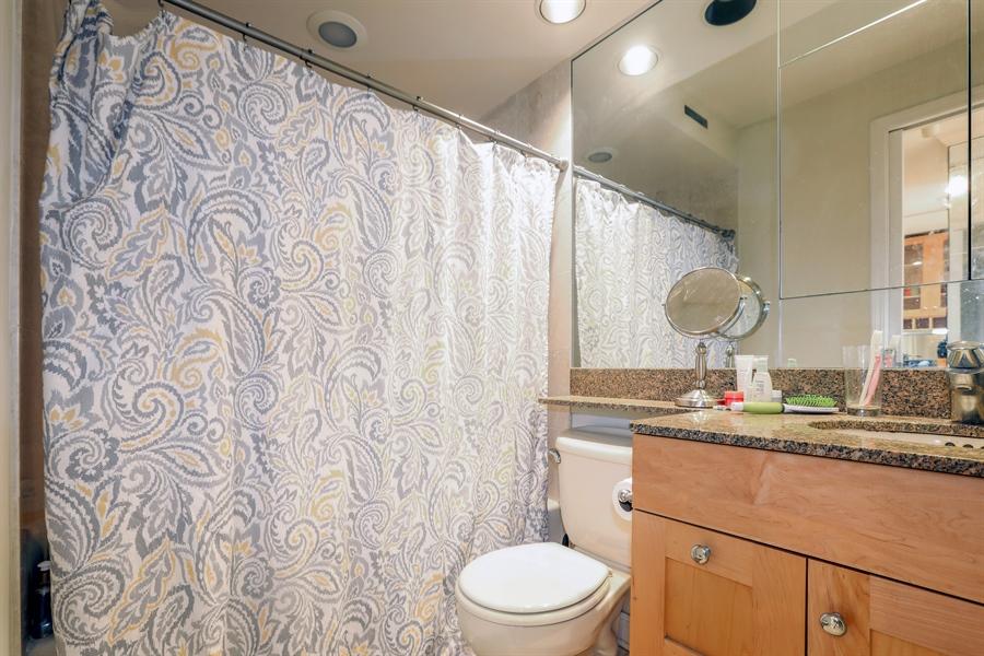 Real Estate Photography - 211 E Ohio, 2418, Chicago, IL, 60611 - Bathroom