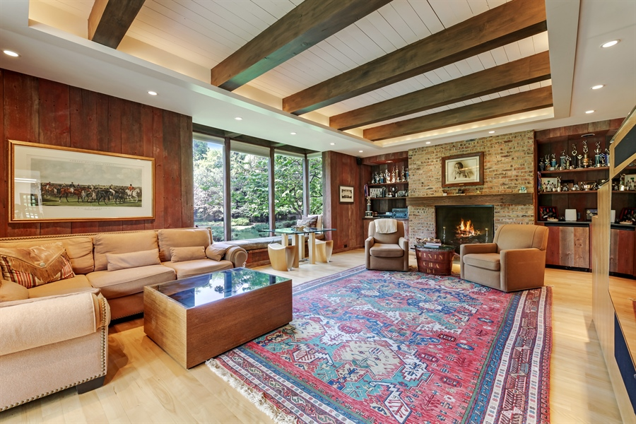 Real Estate Photography - 211 West Westminster, Lake Forest, IL, 60045 - Family Room