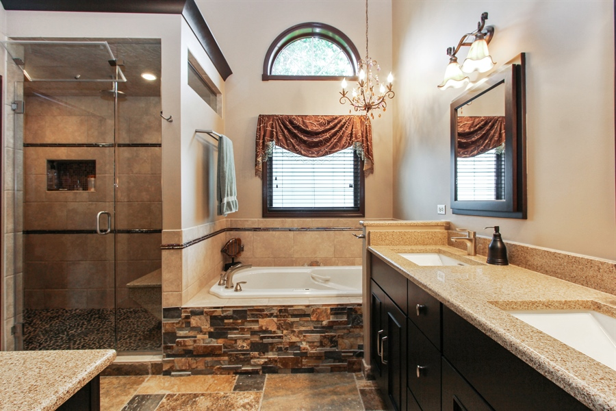 Real Estate Photography - 1191 Rodgers Lane, Lake Zurich, IL, 60047 - Master Bathroom