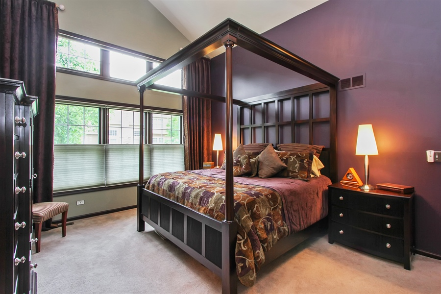 Real Estate Photography - 1191 Rodgers Lane, Lake Zurich, IL, 60047 - Master Bedroom