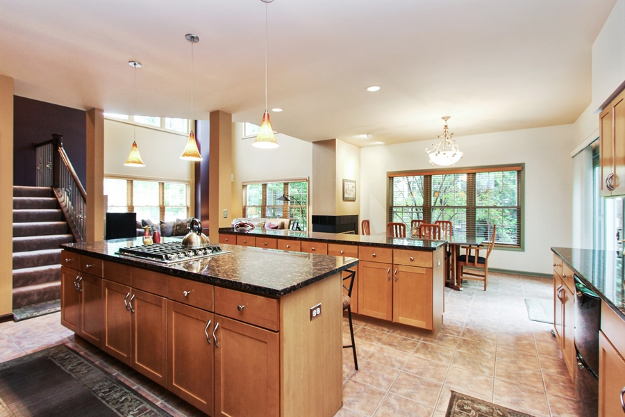 Real Estate Photography - 1191 Rodgers Lane, Lake Zurich, IL, 60047 - Kitchen