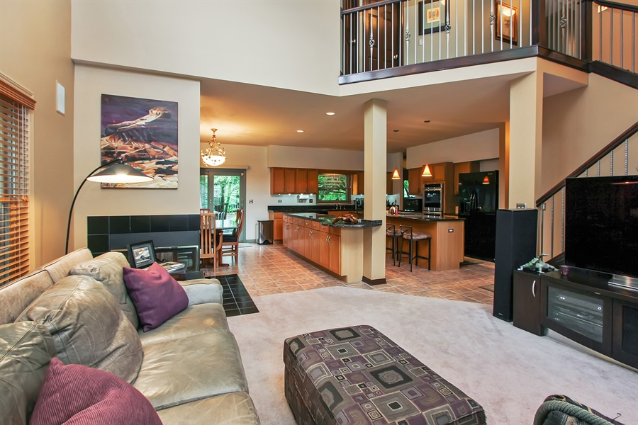 Real Estate Photography - 1191 Rodgers Lane, Lake Zurich, IL, 60047 - Family Room