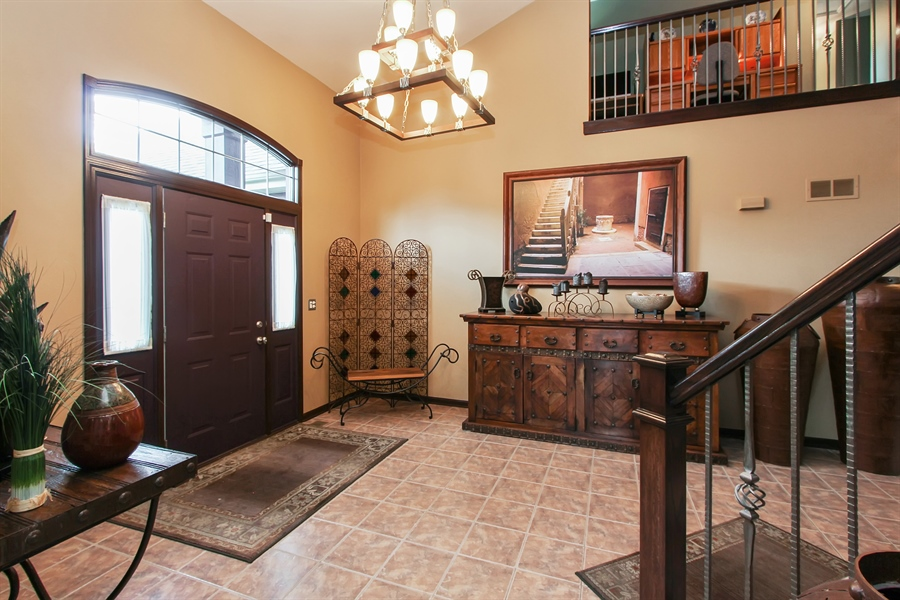 Real Estate Photography - 1191 Rodgers Lane, Lake Zurich, IL, 60047 - Foyer