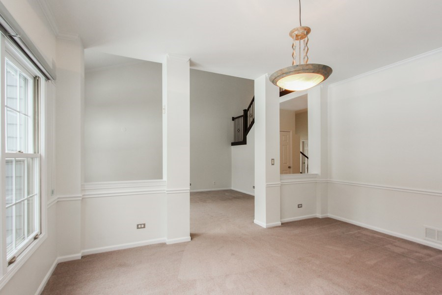 Real Estate Photography - 1191 Rodgers Lane, Lake Zurich, IL, 60047 - Dining Room