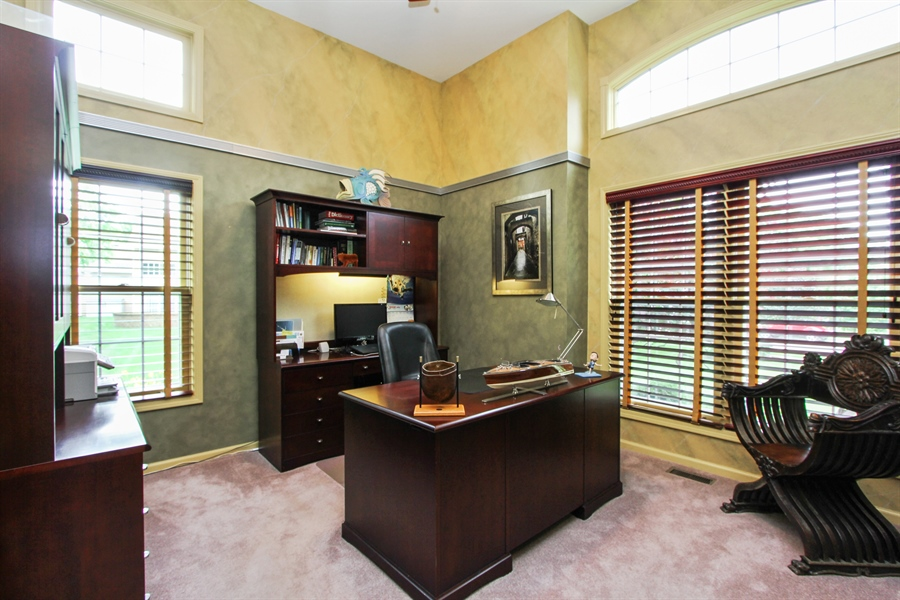 Real Estate Photography - 1191 Rodgers Lane, Lake Zurich, IL, 60047 - Office