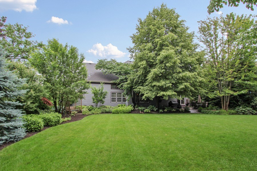 Real Estate Photography - 1191 Rodgers Lane, Lake Zurich, IL, 60047 - Rear View