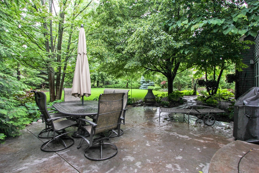 Real Estate Photography - 1191 Rodgers Lane, Lake Zurich, IL, 60047 - Patio