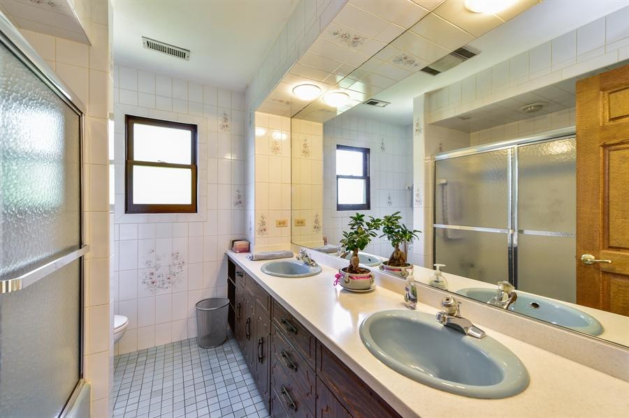 Real Estate Photography - 505 E Atwood Ct., Elmhurst, IL, 60103 - Master Bathroom