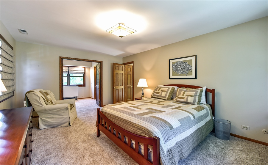 Real Estate Photography - 505 E Atwood Ct., Elmhurst, IL, 60103 - Master Bedroom