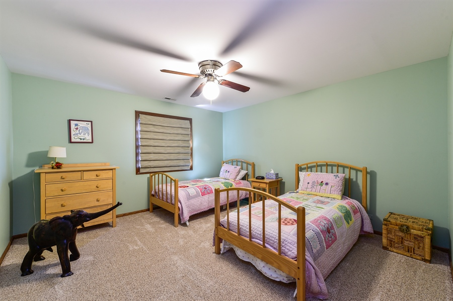 Real Estate Photography - 505 E Atwood Ct., Elmhurst, IL, 60103 - Bedroom