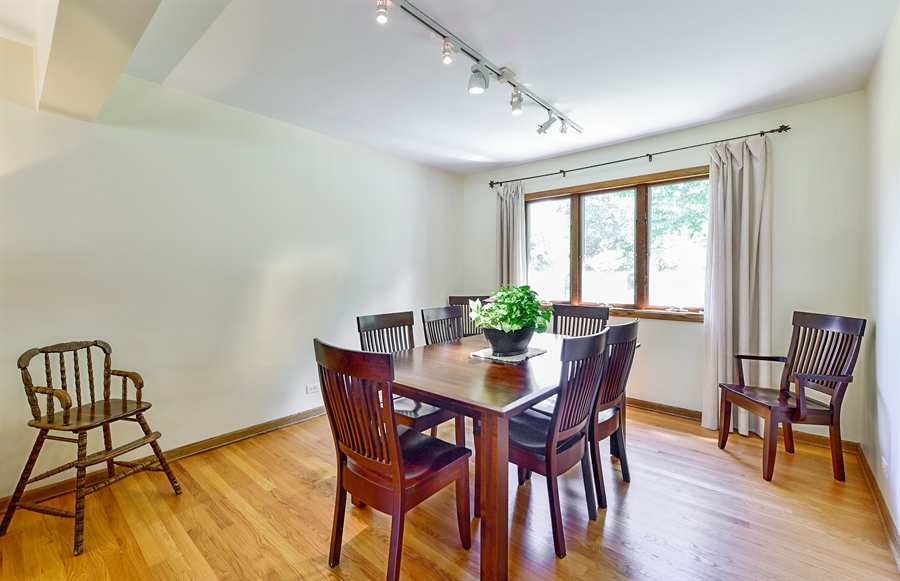 Real Estate Photography - 505 E Atwood Ct., Elmhurst, IL, 60103 - Dining Room