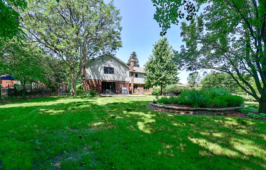 Real Estate Photography - 505 E Atwood Ct., Elmhurst, IL, 60103 - Back Yard