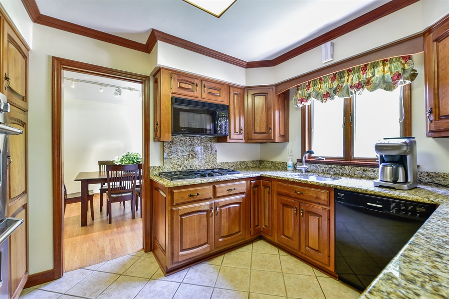 Real Estate Photography - 505 E Atwood Ct., Elmhurst, IL, 60103 - Kitchen / Dining Room