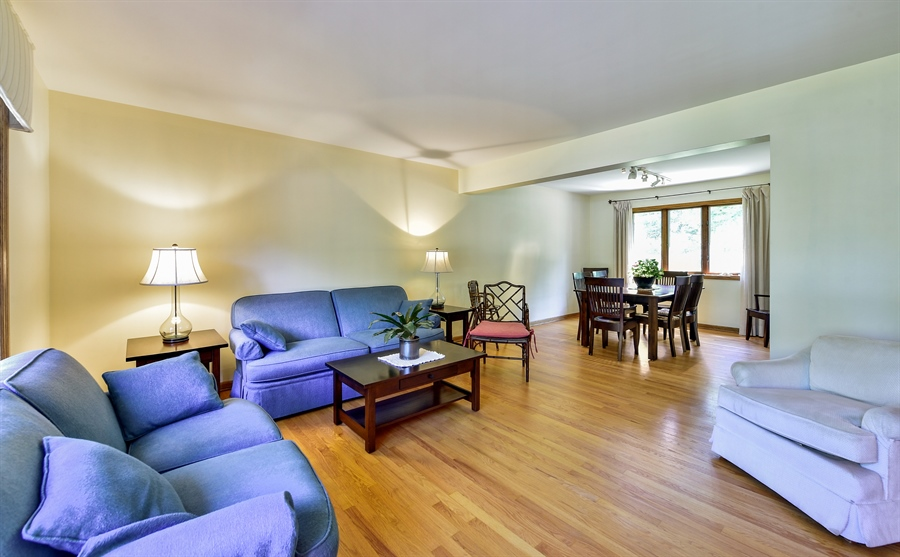 Real Estate Photography - 505 E Atwood Ct., Elmhurst, IL, 60103 - Living Room / Dining Room