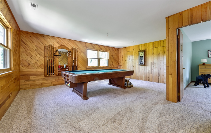 Real Estate Photography - 505 E Atwood Ct., Elmhurst, IL, 60103 - Play / Recreational Room