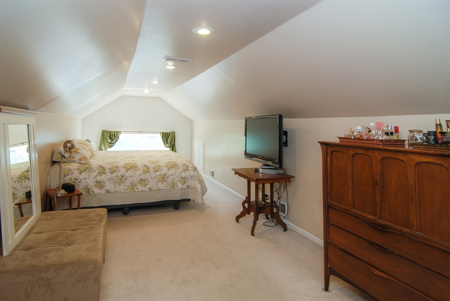 Real Estate Photography - 2428 Scoville, Berwyn, IL, 60402 - Master Bedroom