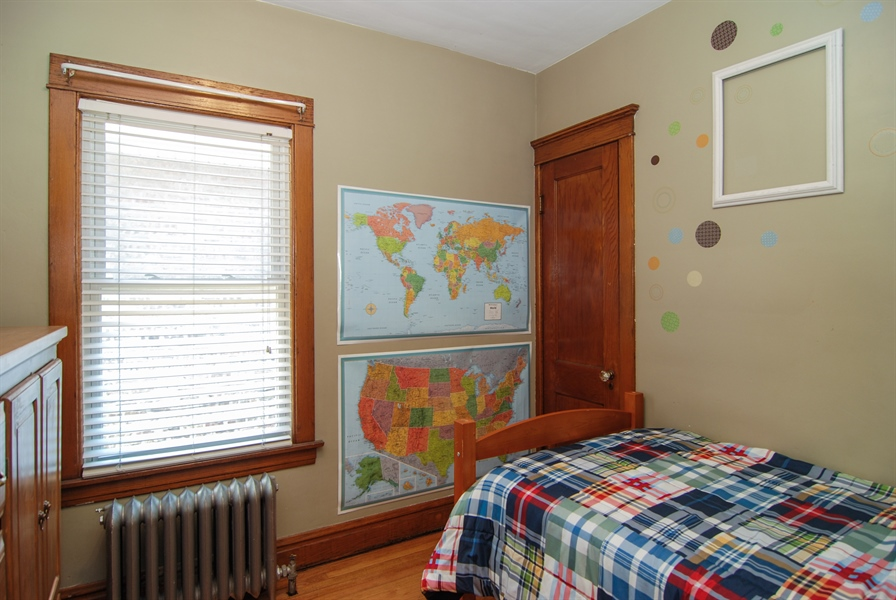 Real Estate Photography - 2428 Scoville, Berwyn, IL, 60402 - 2nd Bedroom