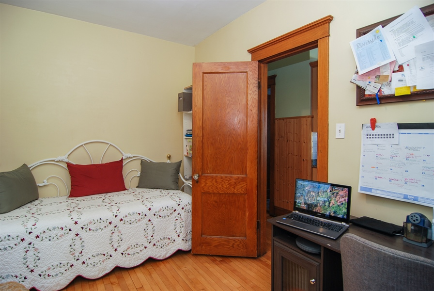 Real Estate Photography - 2428 Scoville, Berwyn, IL, 60402 - 4th Bedroom