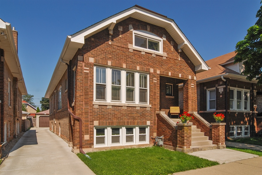 Real Estate Photography - 2428 Scoville, Berwyn, IL, 60402 - Front View