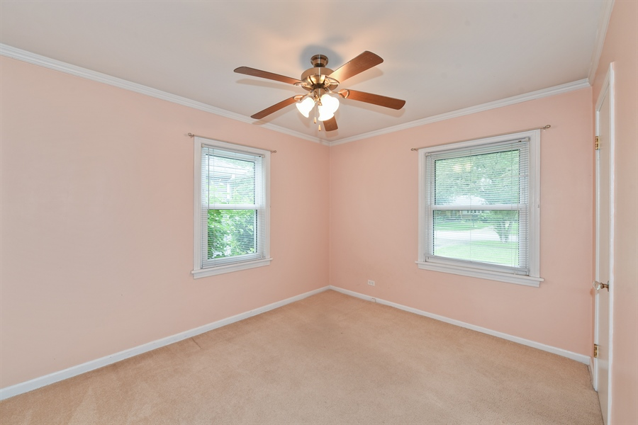 Real Estate Photography - 509 S Chase Ave, Lombard, IL, 60148 - Bedroom
