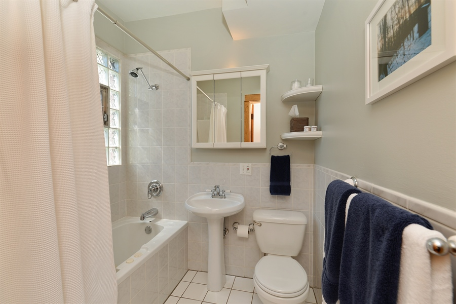 Real Estate Photography - 3340 N. Paulina, 3, Chicago, IL, 60657 - Bathroom