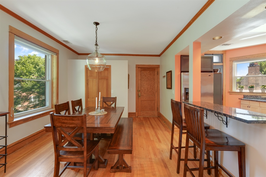 Real Estate Photography - 3340 N. Paulina, 3, Chicago, IL, 60657 - Kitchen / Dining Room