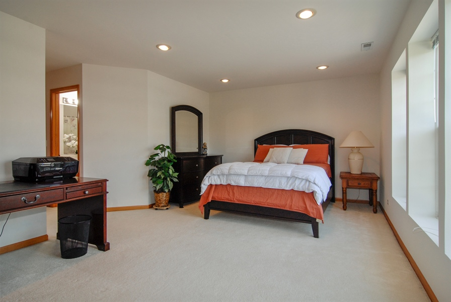 Real Estate Photography - 3240 Brownley, Aurora, IL, 60502 - Master Bedroom