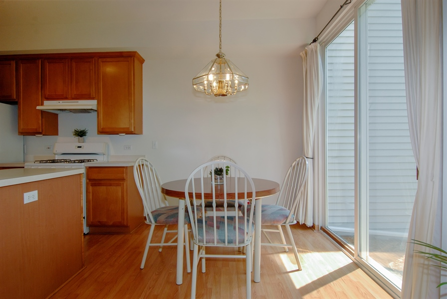 Real Estate Photography - 3240 Brownley, Aurora, IL, 60502 - Dining Room