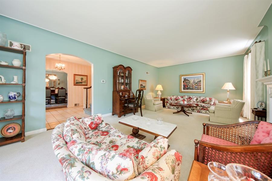 Real Estate Photography - 511 N. Dover, La Grange Park, IL, 60526 - Living Room